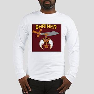 SHRINER round car magnet Long Sleeve T-Shirt