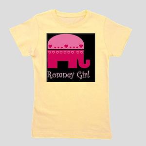 mitt romney girldbutton Girl's Tee