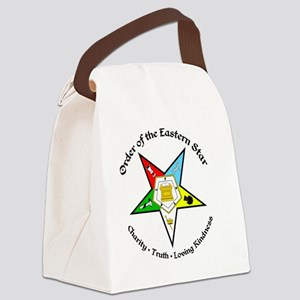 OES Charity Truth Loving Kindness Canvas Lunch Bag