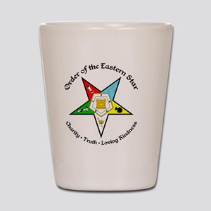 OES Charity Truth Loving Kindness Shot Glass
