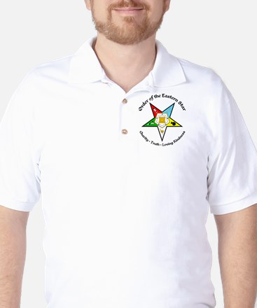 OES Charity Truth Loving Kindness Golf Shirt