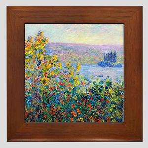 Monet Framed Tile