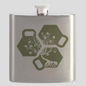 SFKC Tree OD Green Flask