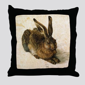 YoungHare Throw Pillow
