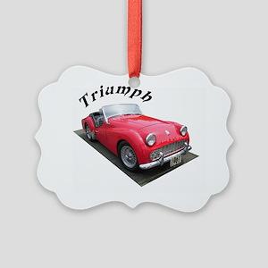 1961 Triumph Sportscar! Picture Ornament