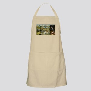 Hieronymus Bosch Garden Of Earthly Del Light Apron