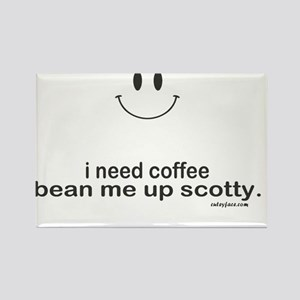 i need coffee Rectangle Magnet