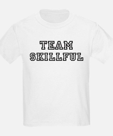Team SKILLFUL Kids T-Shirt