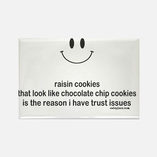 raisin cookies Rectangle Magnet
