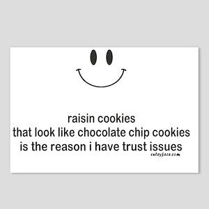 raisin cookies Postcards (Package of 8)