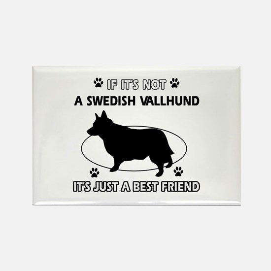 Swedish vallhund designs Rectangle Magnet (10 pack