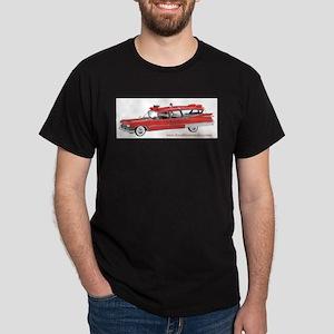 Old Red Ambulance Dark T-Shirt