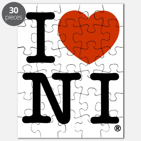I Love Northern Ireland Puzzle