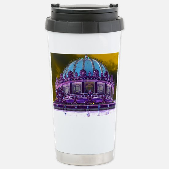 Carousel Purple Haze Stainless Steel Travel Mug