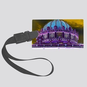 Carousel Purple Haze Large Luggage Tag