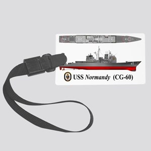 USS Normandy CG-60 Large Luggage Tag