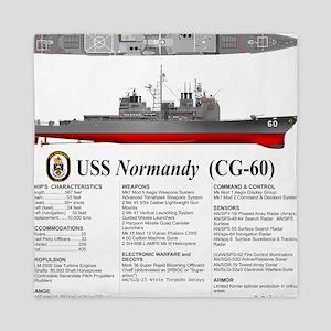 USS Normandy CG-60 Queen Duvet
