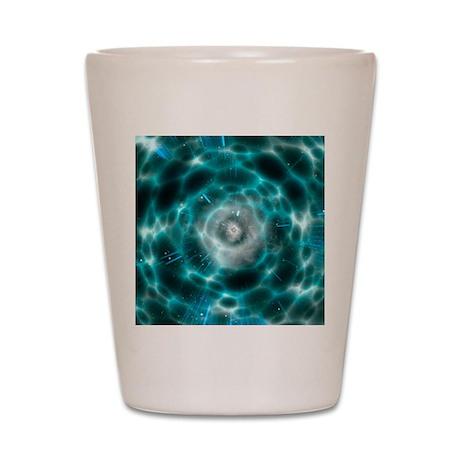 Wormhole, artwork Shot Glass