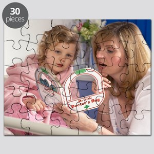 Young girl in hospital Puzzle