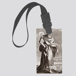 Zeno of Citium, Greek philosophe Large Luggage Tag