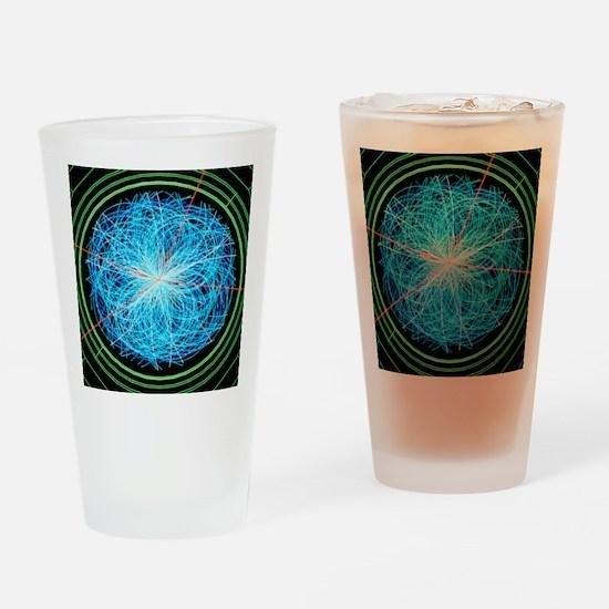 Simulation of Higgs boson productio Drinking Glass