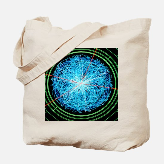 Simulation of Higgs boson production Tote Bag
