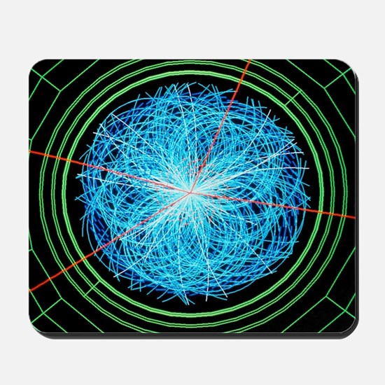 Simulation of Higgs boson production Mousepad