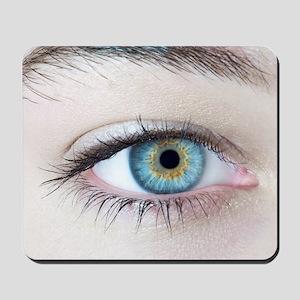 Woman's eye Mousepad