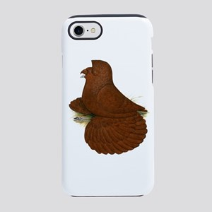 Trumpeter Pigeon Red Iphone 7 Tough Case