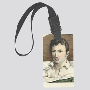 Yellow fever sequence, 19th cent Large Luggage Tag