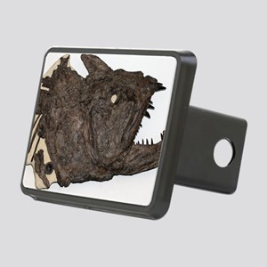 Xiphactinus fossil fish Rectangular Hitch Cover