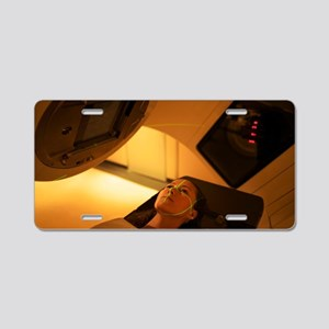 Radiotherapy Aluminum License Plate