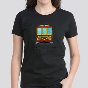 Cable Car Women's Dark T-Shirt