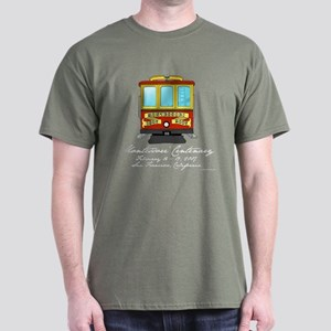 Cable Car Dark T-Shirt