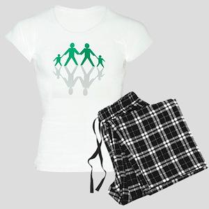 Paper chain family Women's Light Pajamas