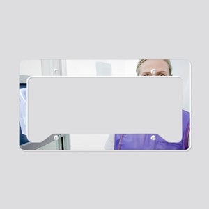 Radiographer License Plate Holder