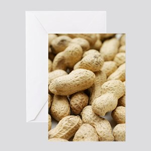 Monkey nuts Greeting Card