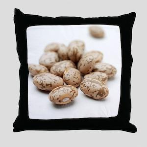 Pinto beans Throw Pillow