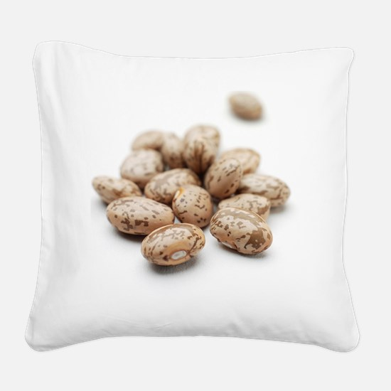 Pinto beans Square Canvas Pillow