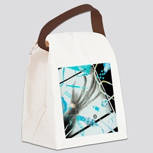 Medical treatment, conceptual ima Canvas Lunch Bag