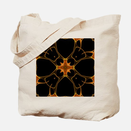 Neurons, kaleidoscope artwork Tote Bag