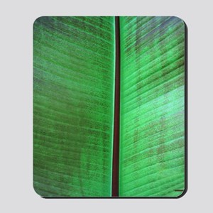 Banana Leaf Tropical Shower Curtain Mousepad