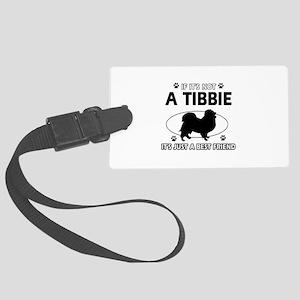 tibbie designs Large Luggage Tag
