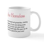 Help me to help the homeless -Mug