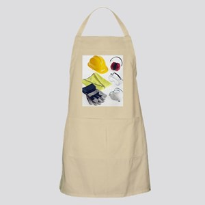 Construction worker's safety equipment Apron