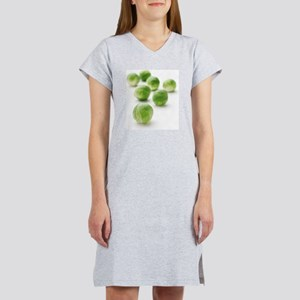 Brussels sprouts Women's Nightshirt