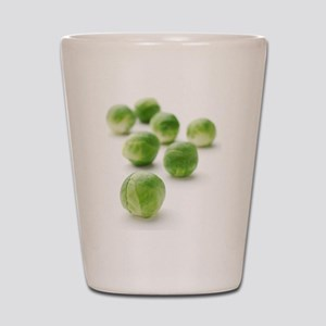 Brussels sprouts Shot Glass