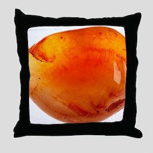 Carnelian Throw Pillow