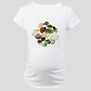Assortment of Gemstones Maternity T-Shirt
