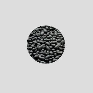 Black turtle beans Mini Button